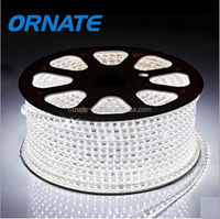 SMD3528 Flexible Warm white/White/Red/Green/Blue LED Strips Light 60led/m AC220V 4W/M