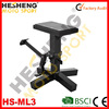 Motorcycle lift stand and table stand, adjustable mx stand ,Black Hardcoat Aluminum Adjustable bike stand(HS-ML3)