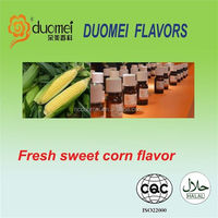 Fresh sweet corn flavouring concentrate flavor for snacks