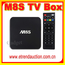 BT4.0 KODI Pre-installed APK & ADD-ONS Set-top Box Quad Core 2G/8G Android 4.4 KitKat OTT TV Box M8 XBMC KODI Full HD TV Player