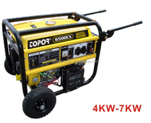 easy to operate 4KW,hand start, 4-stroke Petrol/Gasoline Generator