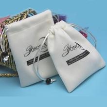 Cheap Jewellery Gift Pouch Velvet Drawstring Packaging Bag