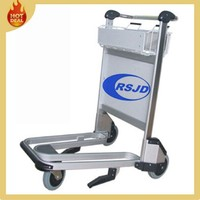 Top sale aluminum hand airport trolley with brake