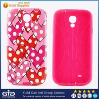 [GGIT] Best Quality 2 in 1 Custom Design Mobile Phone PC Case for Samsung for Galaxy S4 I9500 with Soft TPU Inside