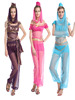 Fashionable Top & Pants 2 Piece Belly Dance India Dancing Costume Set