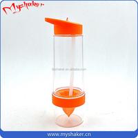 MY-F09 rainbow color High quality plastic shake cup protein powder shake cup custom logo shaker bottle