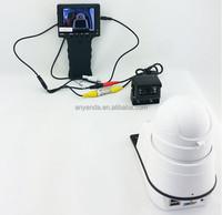 """portable 3.5"""" LCD Monitor CCTV analog camera tester audio monitor"""