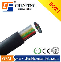 Telephone Flat cable in roll/indoor,outdoor/CCA,BC,CCS