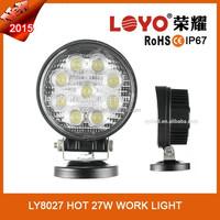 Auto waterproof new 27w car led tuning light/led work light sale