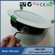 2015 hot selling Ip44 8 inch downlight recessed led downlight replacement 26W plc downlight