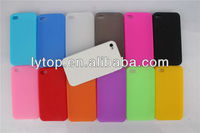 Factory Price For iPhone 4 Case, for iPhone 4S Case, Silicone Case Cover for iPhone 4 5 6