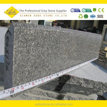 Hight quality Polishedbeveled finishing G343 granite edging curbstone