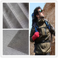 Customized Waterproof Breathable Two-way Stretch Embossing Bonded Polar Fleece Fabric