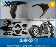 Custom Carbon Fiber Motorcycle Fairing According To Samples