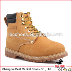 goodyear safety boots/Goodyear Welted Split Embossed boots/oil resistant work boots