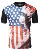 Fashion design hot sell high quality wholesale slim fit t shirt for men