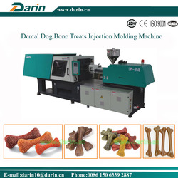Natural Dental Dog Chew/ Dog Treats and Chews Bone Injection Molding Machine