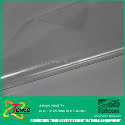 Popular pvc self adhesive vinyl for eco solvent printing with white glue on sale