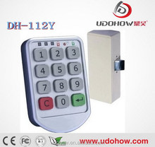 Office furniture pin code electric cabinet lock