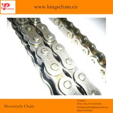 Cadena de transmisión Venezuela reforzó 428H-132L O-ring cadena de la motocicleta