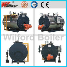 Horizontal Type and Fire Tube Industrial Oil Steam Boiler Price