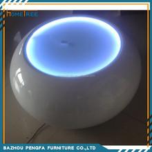 Light up led coffee table royale /led cube light