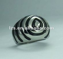 Wholesale biggest discount DHL Beaded steel 2012 fashion rings