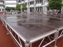 small aluminum smart truss stage