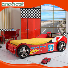 Hongkong supply new classic multifunction king size race car bed