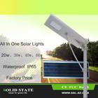 Material de alumínio decoração ao ar livre à prova d ' água Led Motion Sensor Solar luz