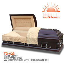TD--A33 funeral accessory service casket coffin bed box handles supplied by china wholesales