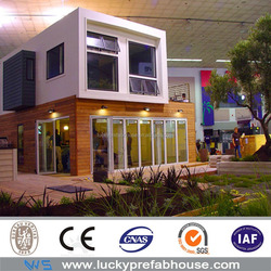prefabricated luxury container house