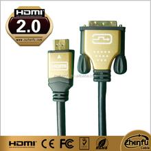 High Speed New Bulk 5.5mm-8.0mm HDMI 1.4 v Ethernet Gold 1080p 3D Video HDTV HD