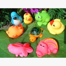 Factory processing custom vinyl toys bath water toy;The baby bath toy;floating rubber duck baby water toys custom vinyl toy
