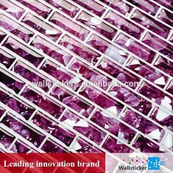 Chinese high quality eco wall decor tile mosaic/ background mosaic tile