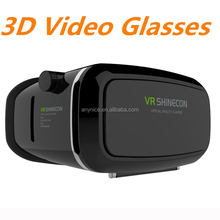 Hot Selling 3D Camera Glasses Virtual Reality VR Shinecon HD VR Glasses For Video 3D Glasses Headset