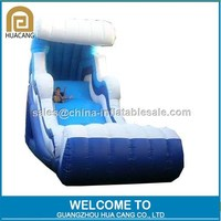 Hot sale best quality giant cheap inflatable water slide