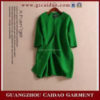 Custom made new style handwork girls overcoat