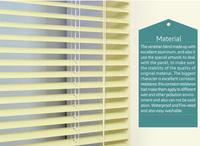 25mm solid color aluminum venetian blinds metal window shutter 25mm alumninum blind slats