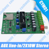 With AUX Line-in 2X10W Button Control SD Card Embedded Audio Module