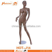 FRP fashion mannequin windown display female full body mannequin doll