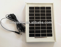 Mini mono solar panel 3W with good quality and high efficiency solar panels for home solar system to dubai