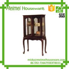 Classic Style Square Furniture window Cabinet
