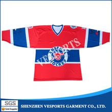 Custom adults ice hockey league teams jersey