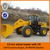 Cat licensed engine wheel loader for sale, big 5 ton wheel loader