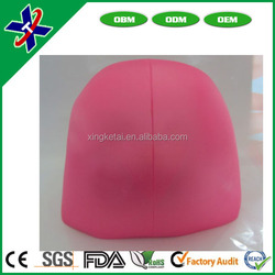 High quality Soft stylish Sporty Silicone Flexible Swimming Swim Cap /Swimming Hats