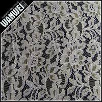 korean nylon cotton big flower orange viscose fabric for dress clothes 3124