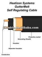 Self Regulating Heat Tracing Cable for Roofs,Gutters and Drains