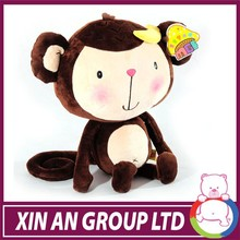 ICTI and Sedex audit hot selling cute plush girl monkey