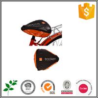Custom plastic PVC waterproof bike seat cover